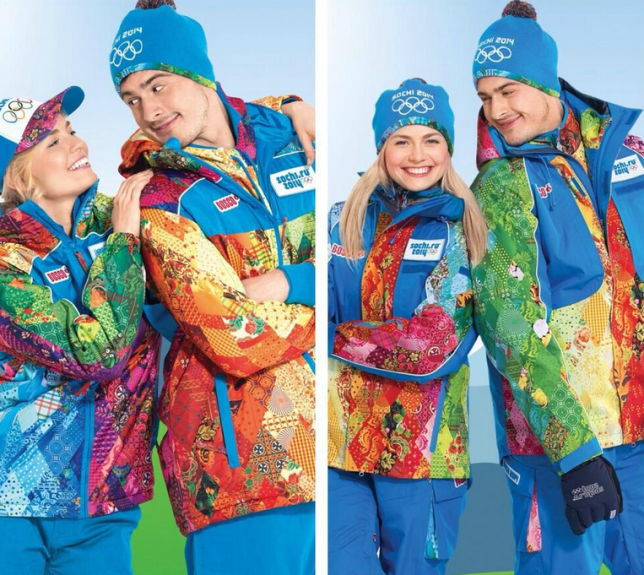 Sochi uniforms (Picture: Sochi 2014)