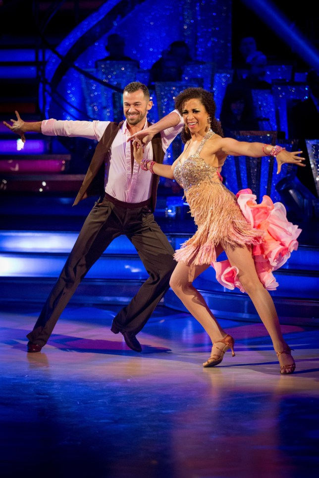 Natalie and Artem danced up a storm (Picture: BBC)