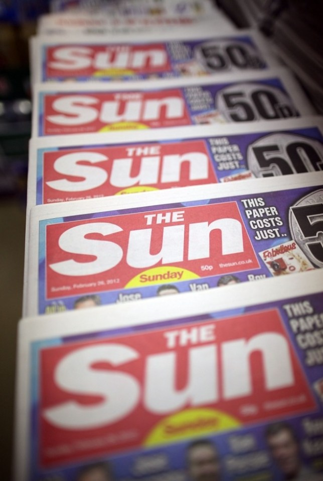 Our problem is with the (Picture: The Sun)