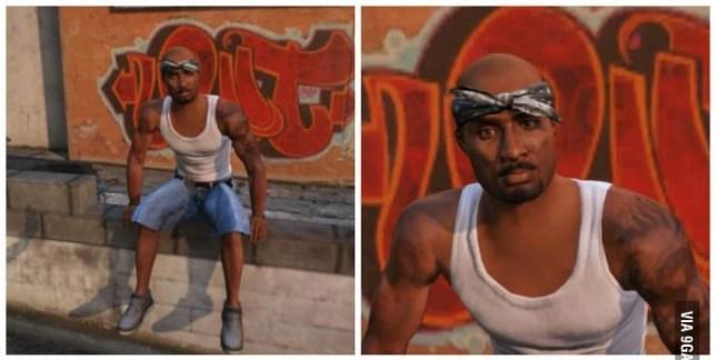 Tupac Shakur is alive, in GTA 5 at least | Metro News