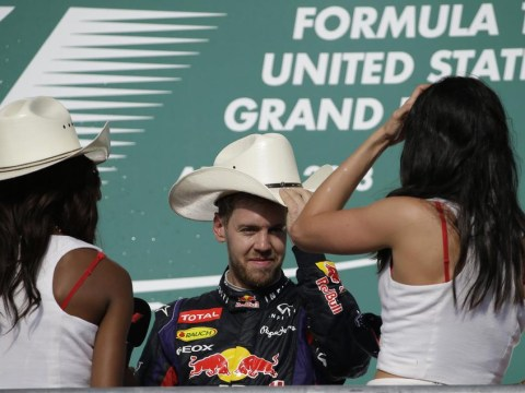 Record-breaker Sebastian Vettel lives American dream with eighth consecutive win