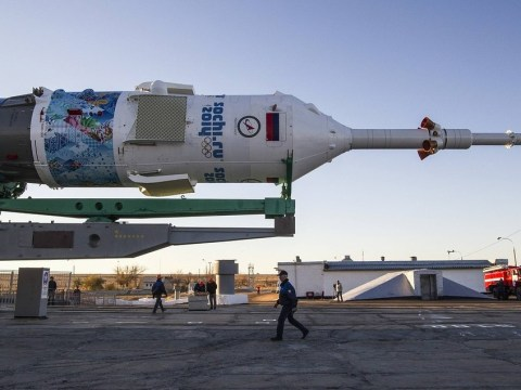 Olympic torch to go on a spacewalk for the first time as part of Sochi 2014 relay