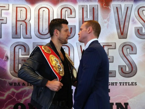 George Groves continues slanging match ahead of Carl Froch fight