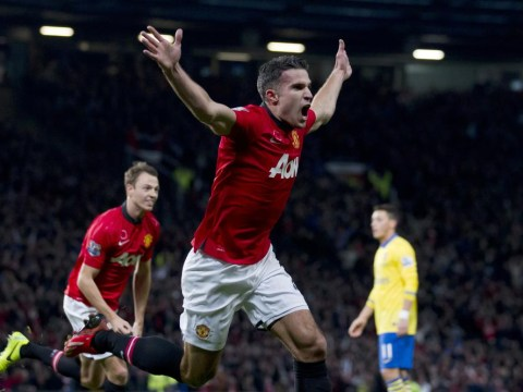 Celebrating Van Persie: Why Robin was right to savour Manchester United winner