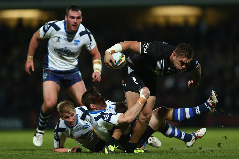 New Zealand secure place in semi-finals after defeating Scotland