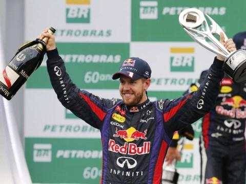 Sebastian Vettel wins for the 13th time to cap off record-breaking world championship season in Brazil