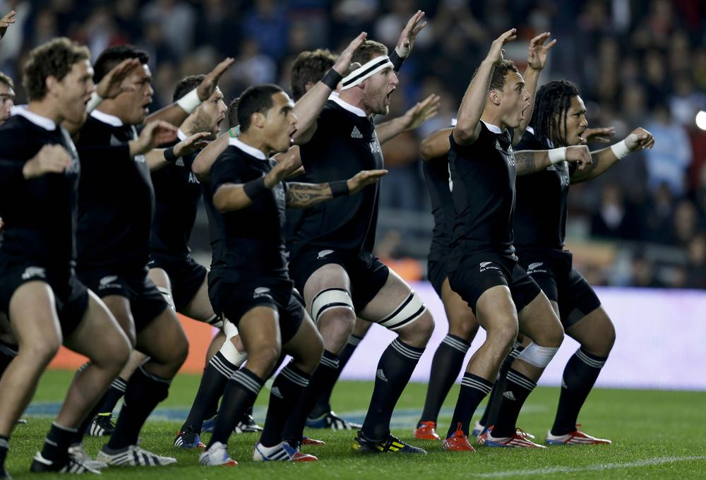 Watch New Zealand's best Hakas and most memorable responses from the All Blacks' opposition