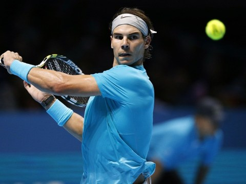 Rafael Nadal says he won't win his first ATP World Tour finals crown if he lets his impeccable standards drop