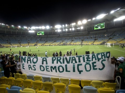 Brazil unrest raises World Cup fears as Soccerex conference is cancelled