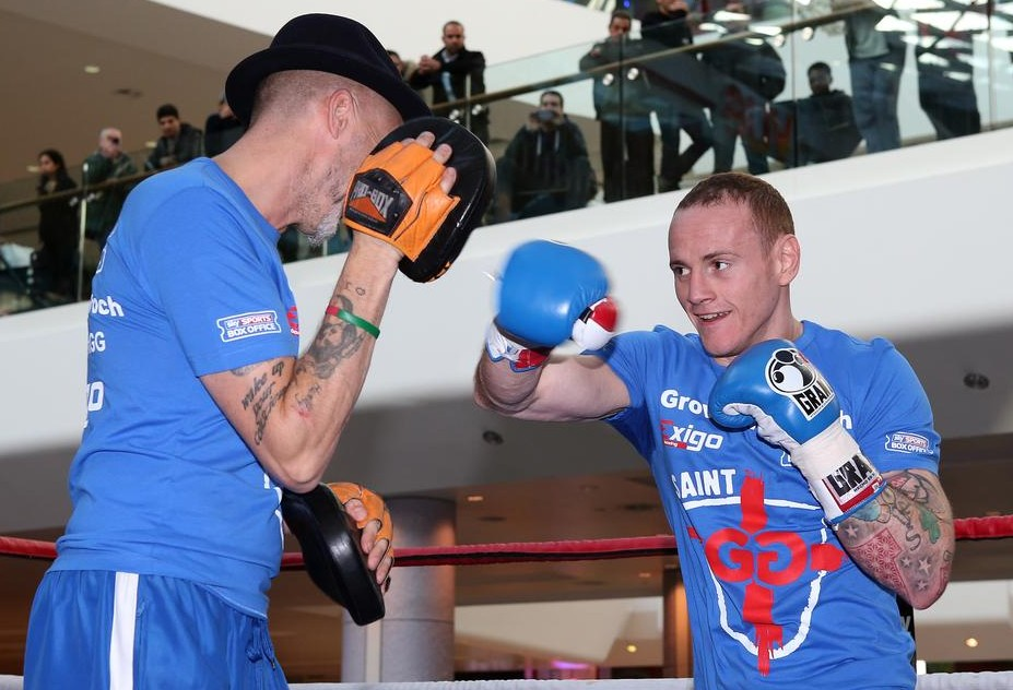 George Groves pours scorn on Carl Froch's 'international superstar' image