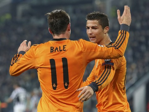 Cristiano Ronaldo gives Gareth Bale seal of approval after double-teaming Juventus