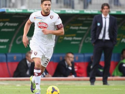 Torino defender Danilo D'Ambrosio is on Aston Villa's January wishlist