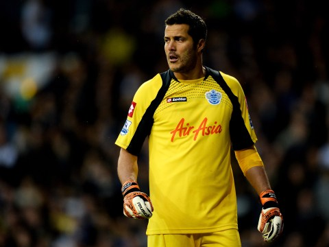 Arsenal alerted as QPR admit Julio Cesar can leave for free