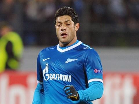 Hulk confirms interest in joining Andre Villas-Boas at Tottenham