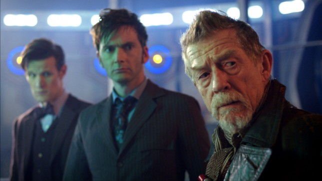 What the-? Doctor Who's real name has been revealed by writer Steven Moffat (Picture: BBC)