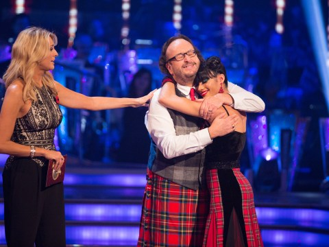 He's finally gone! Dave Myers waltzes off Strictly Come Dancing after dance-off with Mark Benton