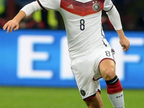 Germany's Mesut Ozil won't be handed the chance to face England at Wembley