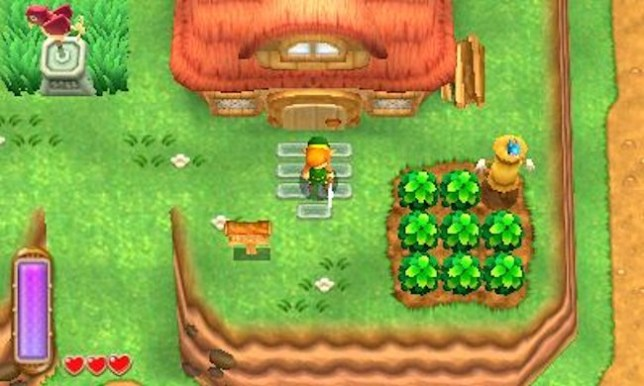 The Legend Of Zelda: A Link Between Worlds (3DS) - the old and the new
