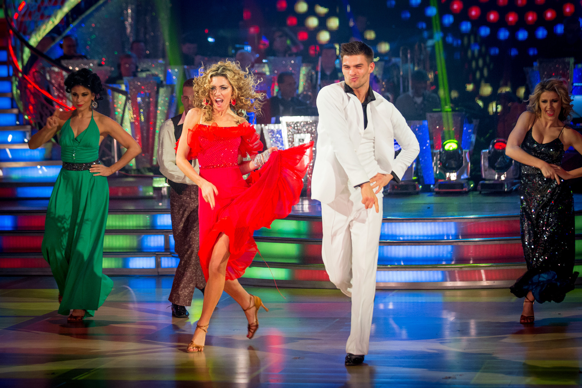 Strictly Come Dancing champ Abbey Clancy calls for a winners' version of the show