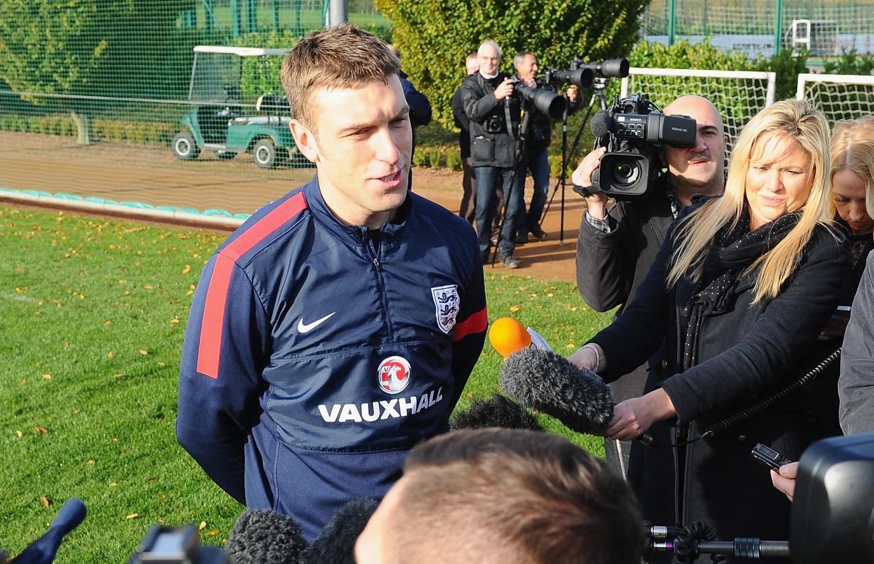 England Training Session