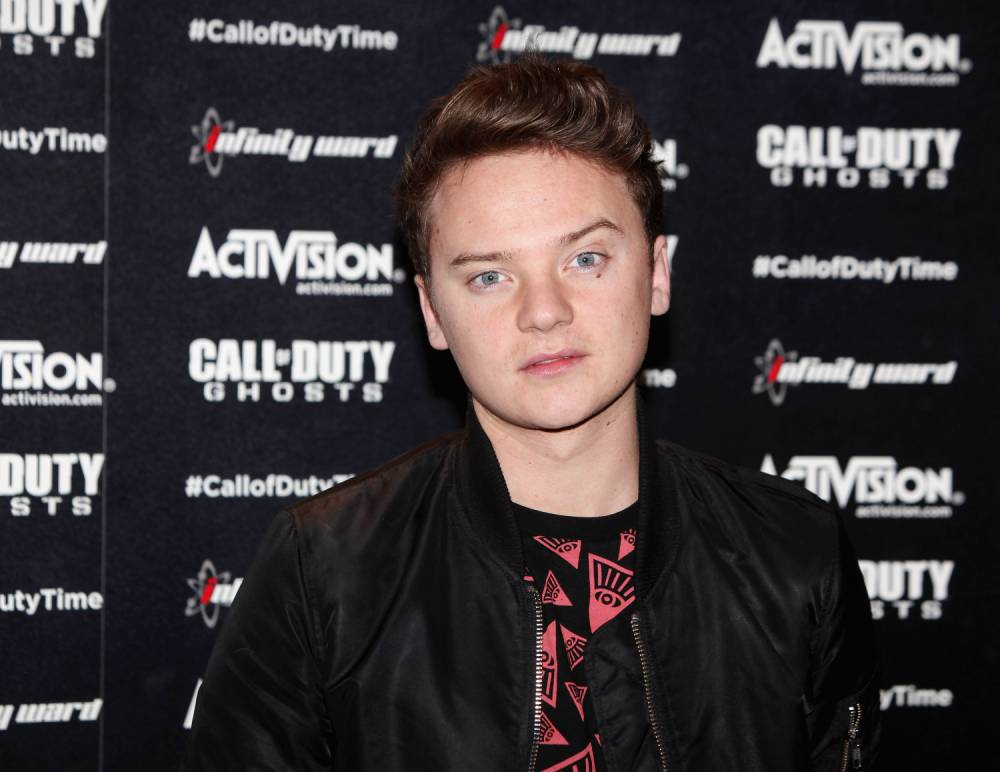 LONDON, ENGLAND - NOVEMBER 04: Conor Maynard at the Call of Duty: Ghosts launch event at IndigO2, London. The game launches on Tuesday 5th November 2013 #GhostsLaunch on November 4, 2013 in London, England. (Photo by David M. Benett/Getty Images for Call Of Duty: Ghosts) *** Local Caption *** Conor Maynard