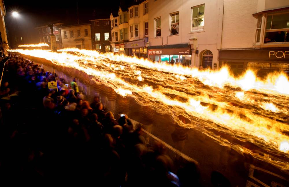Gallery: Bonfire night celebrations in Lewes 2013