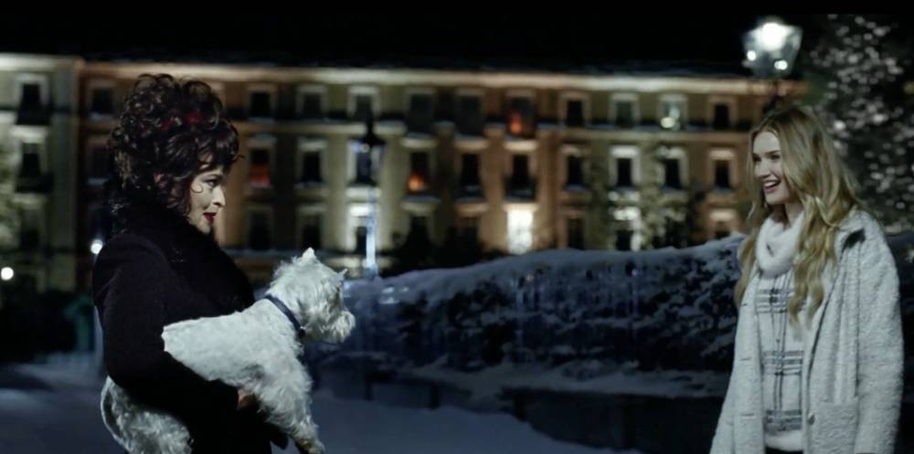 Watch out John Lewis: Marks & Spencer's first Christmas advert arrives – complete with a magical performance by Rosie Huntington-Whiteley