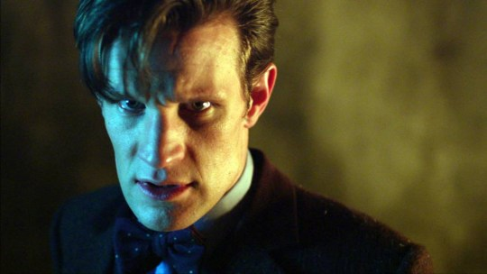Programme Name: Doctor Who - TX: 23/11/2013 - Episode: Day of the Doctor (No. n/a) - Embargoed for publication until: 07/11/2013 - Picture Shows: *STRICTLY EMBARGOED FOR USE UNTIL 7th NOVEMBER 2013*.. PLEASE DO NOT PASS ON THESE IMAGES TO 3rd PARTIES. The Doctor (MATT SMITH) - (C) BBC - Photographer: screengrabs