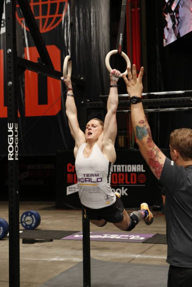 Samantha Briggs is the 'fittest woman on Earth' after winning the 2013 CrossFit Games (Picture:  supplied)