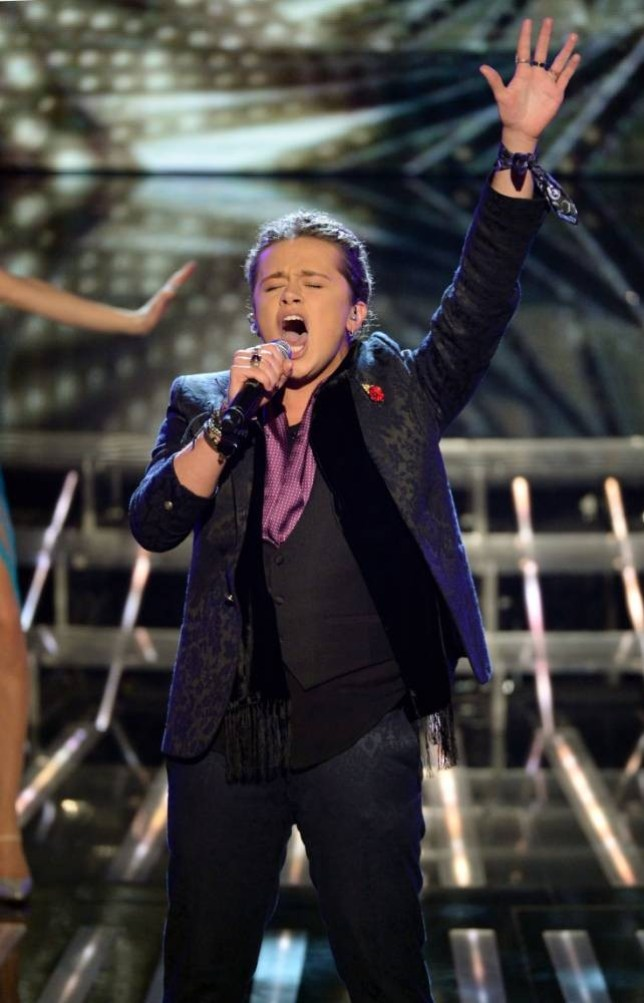 The X Factor 2013: Luke Friend is hungry for success and love after the final (Picture: Rex)