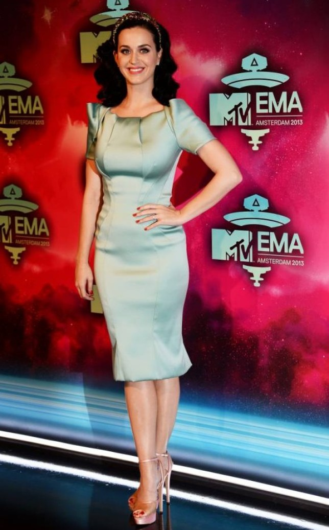 AMSTERDAM, NETHERLANDS - NOVEMBER 10:  Katy Perry attends the MTV EMA's 2013 at the Ziggo Dome on November 10, 2013 in Amsterdam, Netherlands.  (Photo by Ian Gavan/Getty Images for MTV)