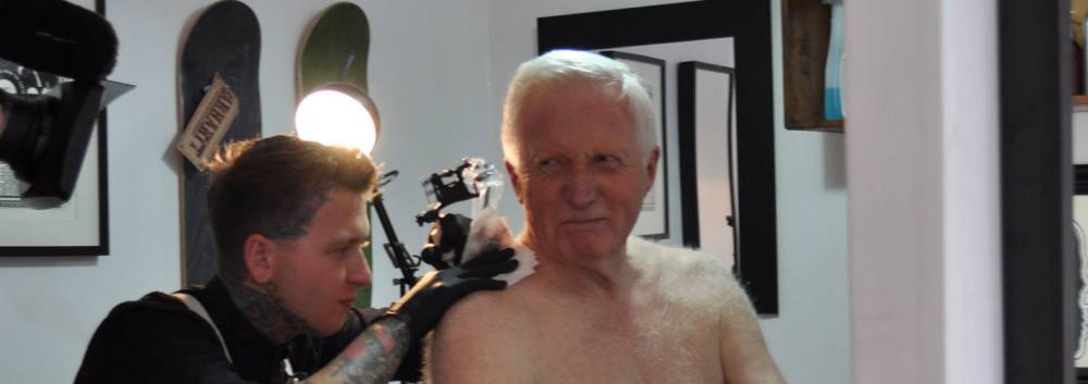 Question Time's David Dimbleby gets a tattoo. So what?