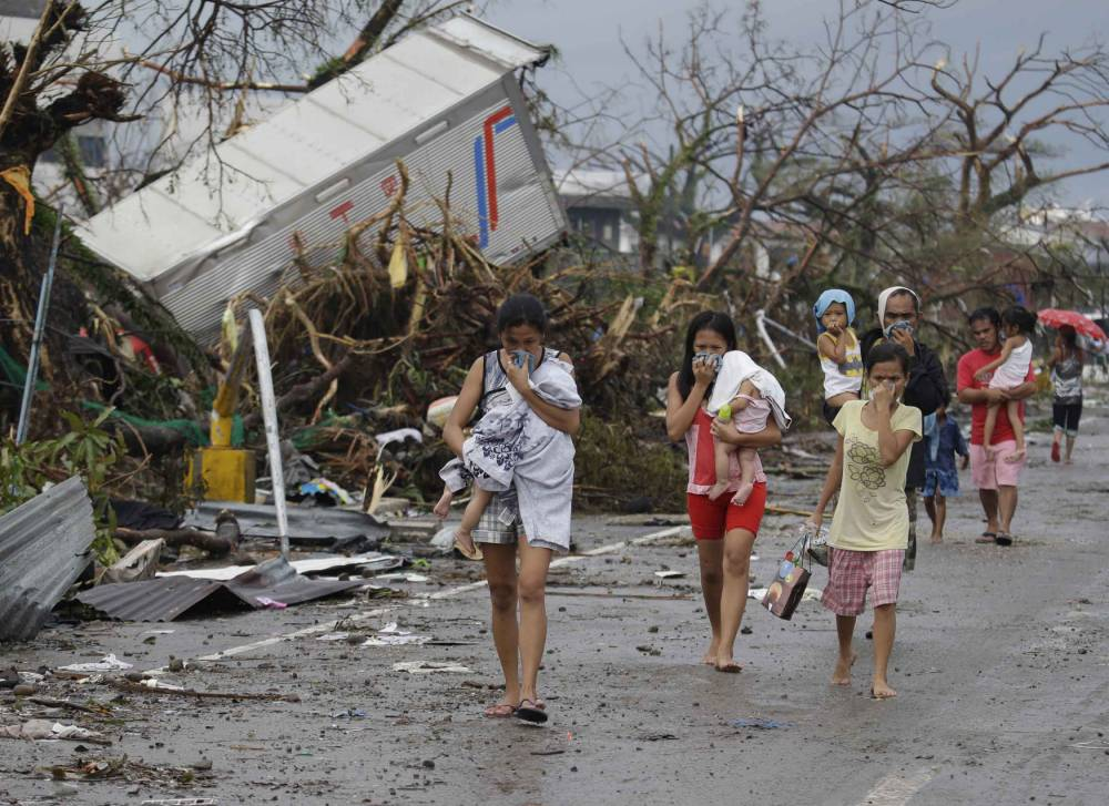 Typhoon Haiyan: Vulnerable victims could be sold into slavery, aid agency warns