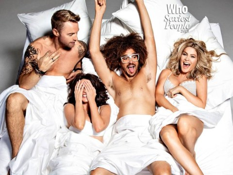 Dannii Minogue leaps into bed with Ronan Keating and Aussie X Factor judges