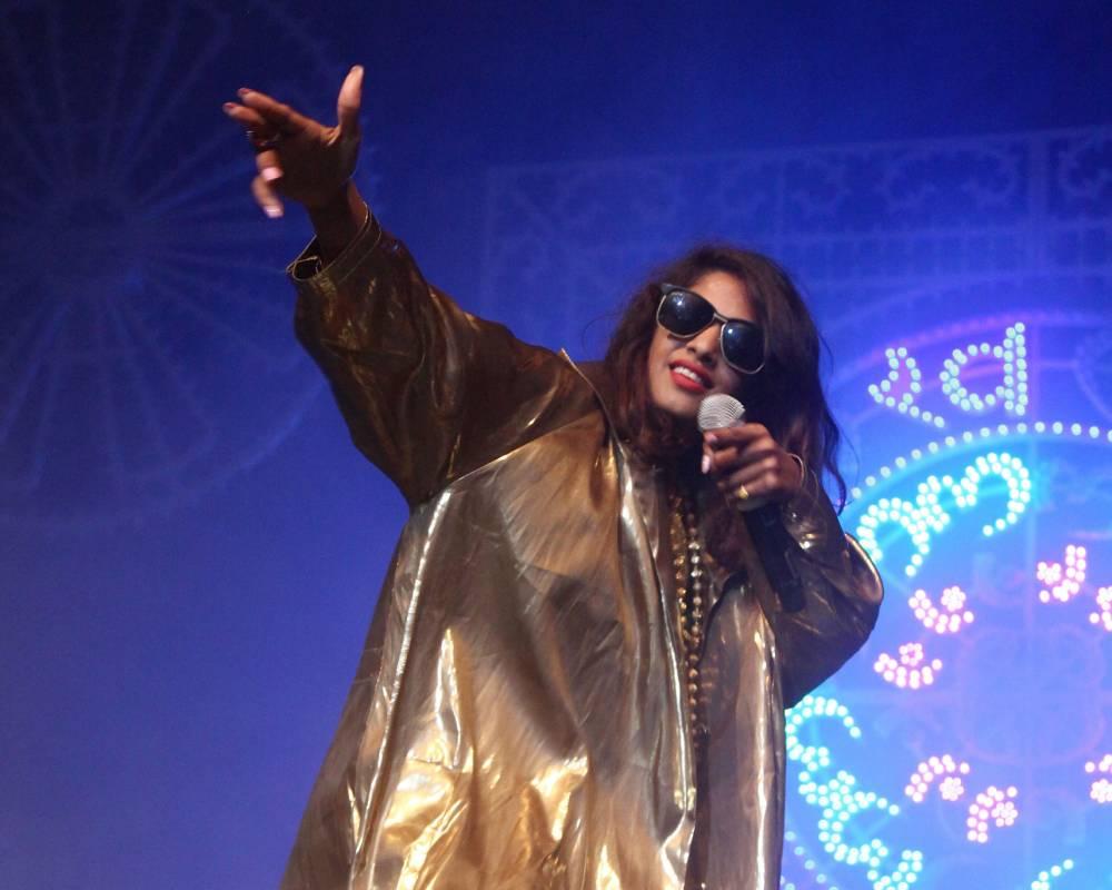Bad Girls rapper M.I.A reveals she once broke into Glastonbury