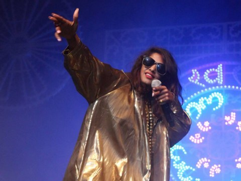 Bad Girls rapper M.I.A reveals she once broke into Glastonbury