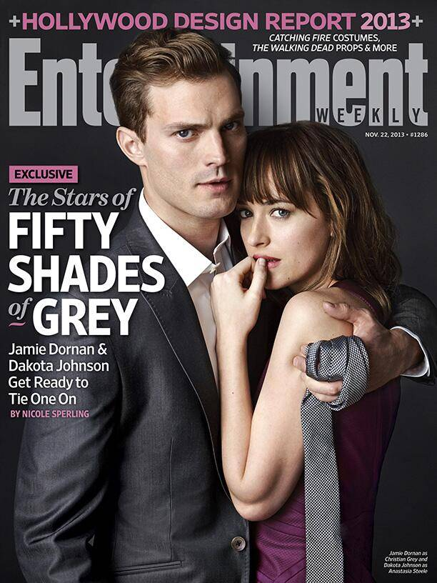 Fifty Shades of Grey stars Jamie Dornan and Dakota Johnson together at last as release date delayed