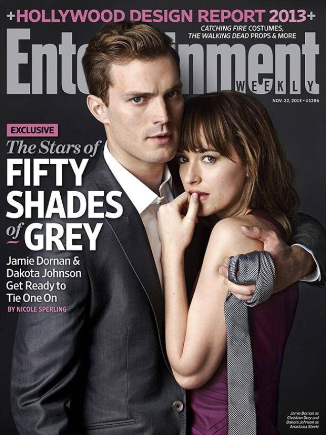 Jamie Dornan and Dakota Johnson appear on the cover of Entertainment Weekly (Picture: Entertainment Weekly)