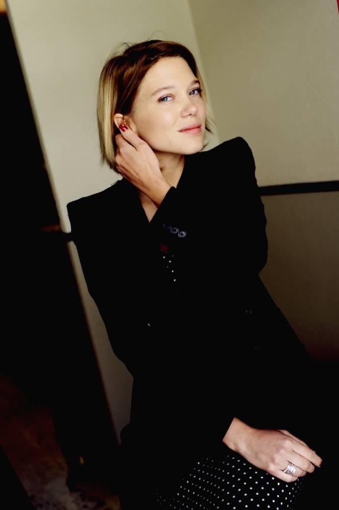 Léa Seydoux spent ten days filming one sex scene for Blue Is The Warmest Colour (Picture: Herrick Strummer/Getty)