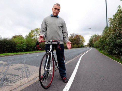 Britain's most ridiculous cycle path? Redesigned route leaves cyclists confused
