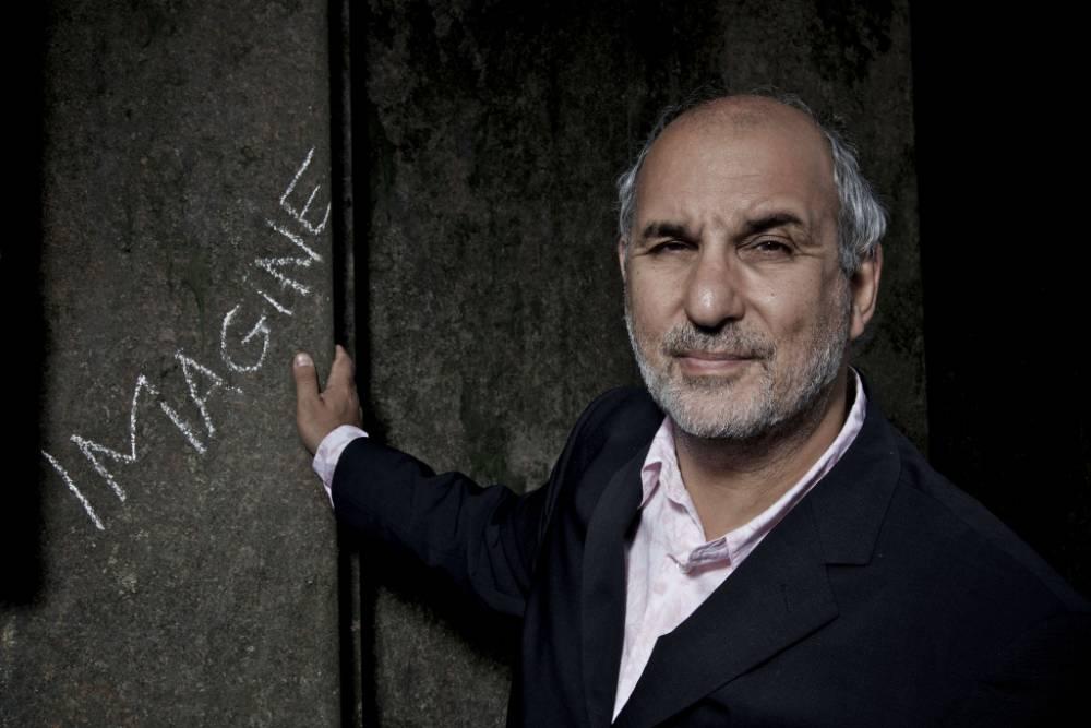 Alan Yentob in Imagine, exploring the world of Outsider Art (Picture: BBC/Steve Schofield)
