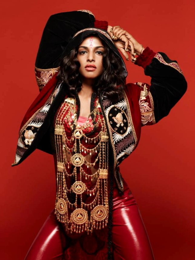 MIA's new album Matangi is named after a Hindu deity of words and music (Picture: Daniel Sannwald)