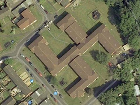 Council block shaped like Swastika found on Google Maps