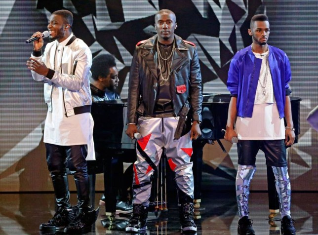 Rough Copy missed out on a place in The X Factor Final 2013 (Picture: Rex)