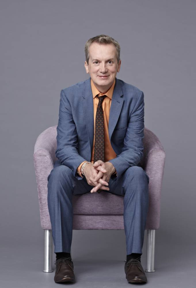 Frank Skinner Man In A Suit sees crown prince of laddism grow up