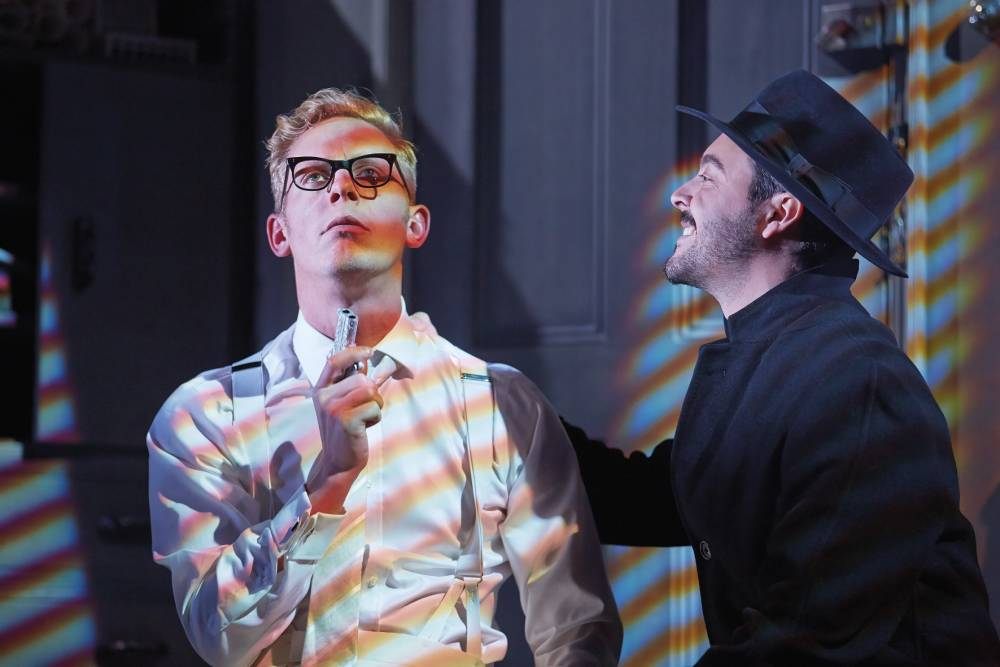 Strangers On A Train at Gielgud Theatre runs out of steam