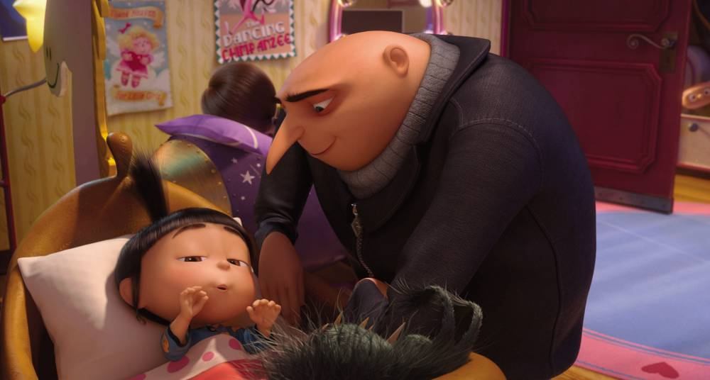 Director Chris Renaud: Russell Brand came up with the best line in Despicable Me 2