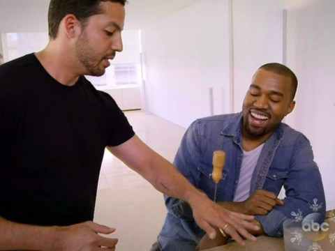Impaled David Blaine does the impossible, leaves Kanye West lost for words