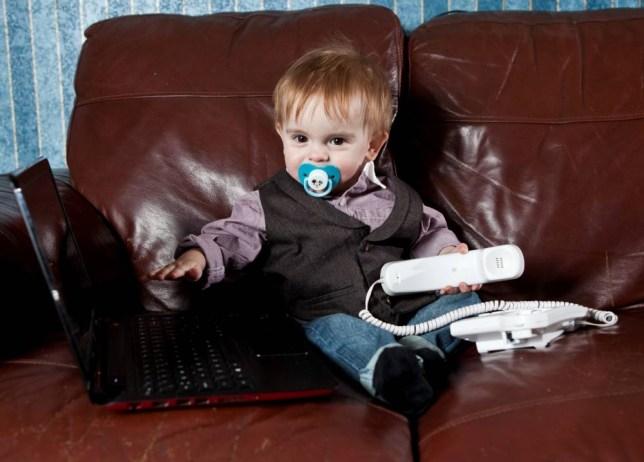 Jonathon Thorpe, Spitfire baby, super baby, walking, talking, laptop, Gangnam Style, birth