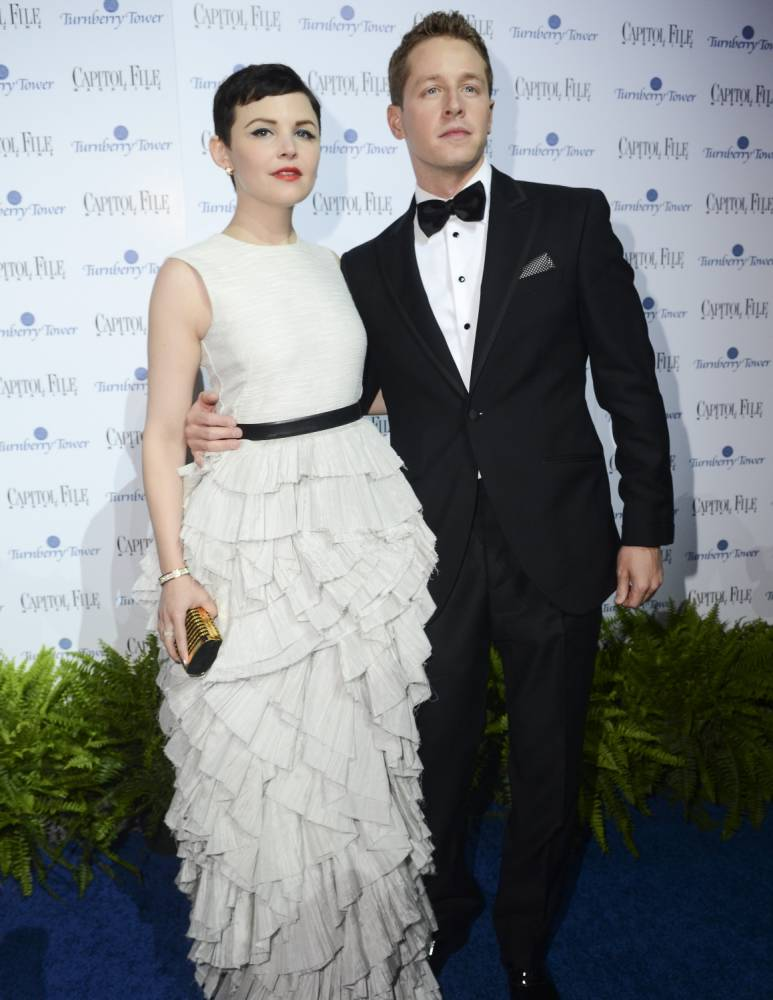 WASHINGTON, DC - APRIL 29: Gennifer Goodwin and Joshua Dallas attend the Capitol File's 7th Annual White House Correspondents' Association Dinner After Party at The Newseum on April 29, 2012 in Washington, DC. (Photo by Kris Connor/Getty Images)